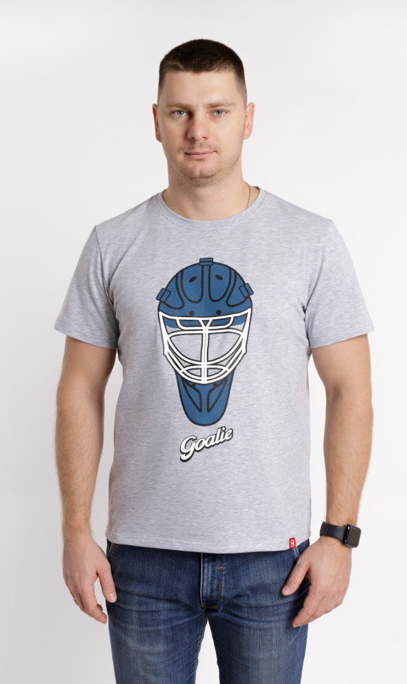 Футболка Goalie Mask Gray