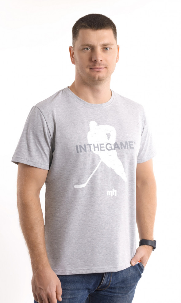 Футболка Player Gray