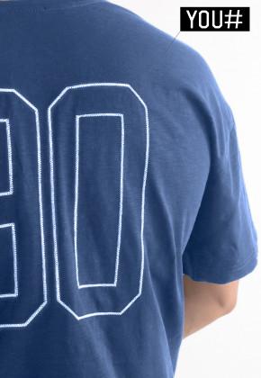 Футболка Mark Wear Pulse Navy с вашим номером
