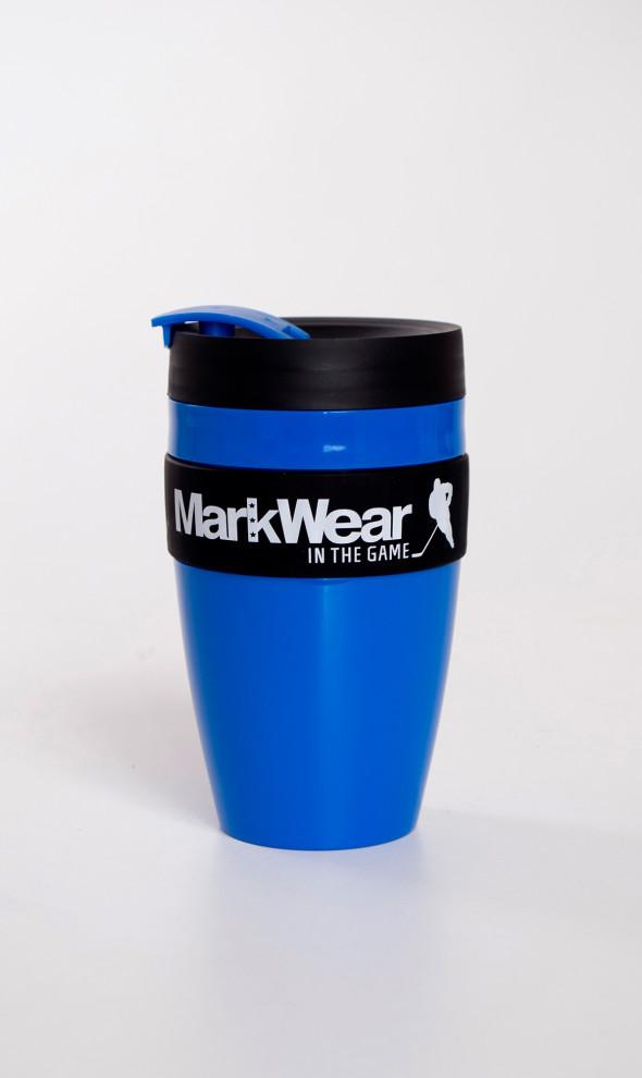 Кружка непроливайка MarkWear Blue