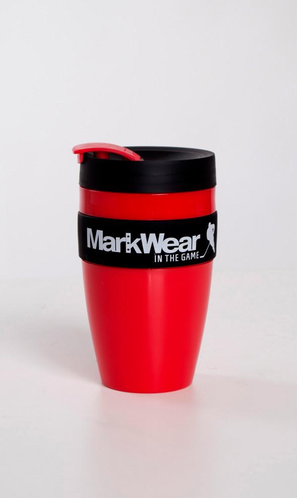 Кружка непроливайка MarkWear Red
